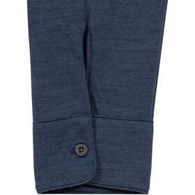 super.natural Everyday Koszula Mężczyźni, blue iris melange